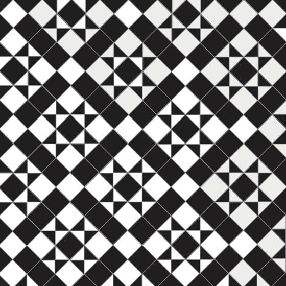 Carron Black/White