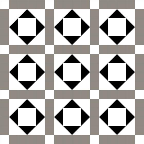 Lockwood Grey/White/Black